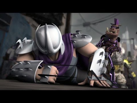 Classic Shredder VS Bebop And Rocksteady - Teenage Mutant Ninja Turtles Legends