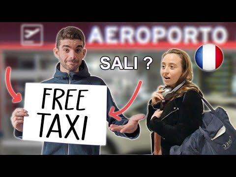 Gli STRANIERI si fidano degli ITALIANI ? - FREE TAXI #1 - Offrire passaggi ai turisti - thepillow