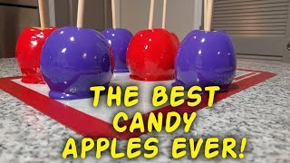I LEARNED HOW TO MAKE CANDY APPLES!