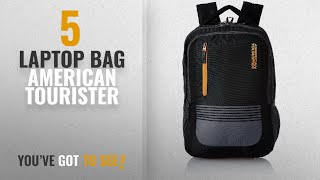 Top 10 Laptop Bag American Tourister [2018]: American Tourister 32 Ltrs Black Laptop Backpack (AMT