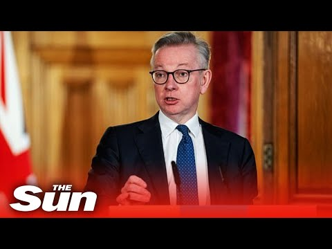 Michael Gove And Government Officials Give Coronavirus Daily Briefing - Replay