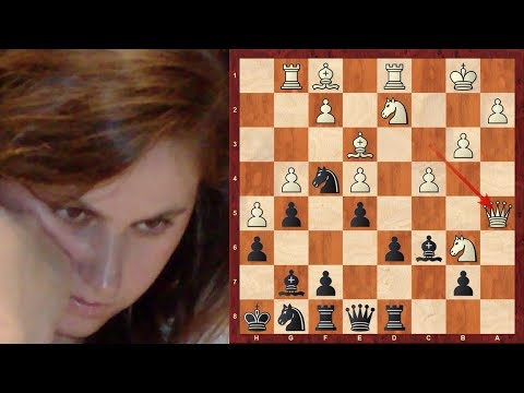 Judit Polgar Top 11 Amazing Chess Sacrifices! The Strongest Woman Chess Player of all time!