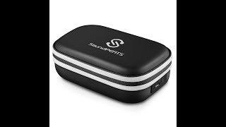 SoundPEATS Portable Battery Charger Case for Earbuds With Micro USB Port