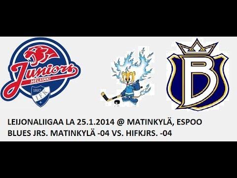Espoo Blues -04 vs. HIFK -04