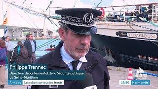 Armada 2019 : l'important dispositif de la police