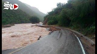 'Willa' deja inundaciones y poblados anegados en Durango