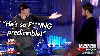 [UNCENSORED] Phill Hellmuth Is FURIOUS At Young Punk