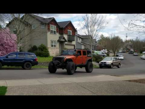 2011 Jeep JK 6.0l V8 swap DIY from RPMExtreme (Wicked engine revs at end)
