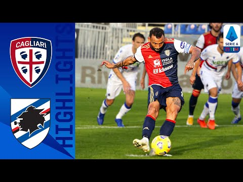 Cagliari Sampdoria Goals And Highlights