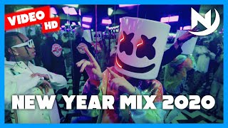 New Year Mix 2020 | Best of 2019 Hip Hop RnB Party Pop Reggaeton Dancehall Electro & Trap Club Music