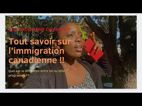 Voici les différents programmes d'immigration et visa du Canada / comment immigrer au Canada en 2021