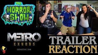 """Metro: Exodus"" 2017 E3 Video Game Trailer Reaction - The Horror Show"