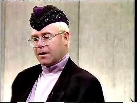 Elton John - Interview on The Wogan Show 1990 - HD