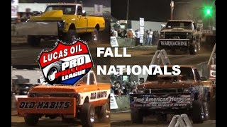 Pro Stock 4x4 trucks pulling at the Westmoreland Fall Nationals!