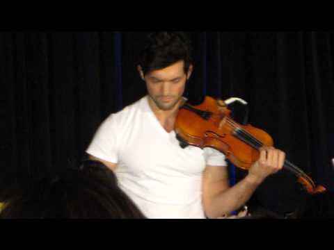 David Alpay feeling Hella Good...at TVDDallas.