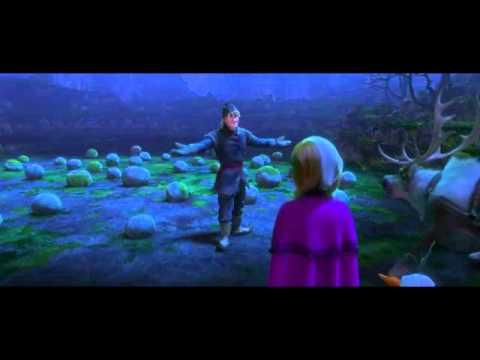 anna and elsa meet the trolls