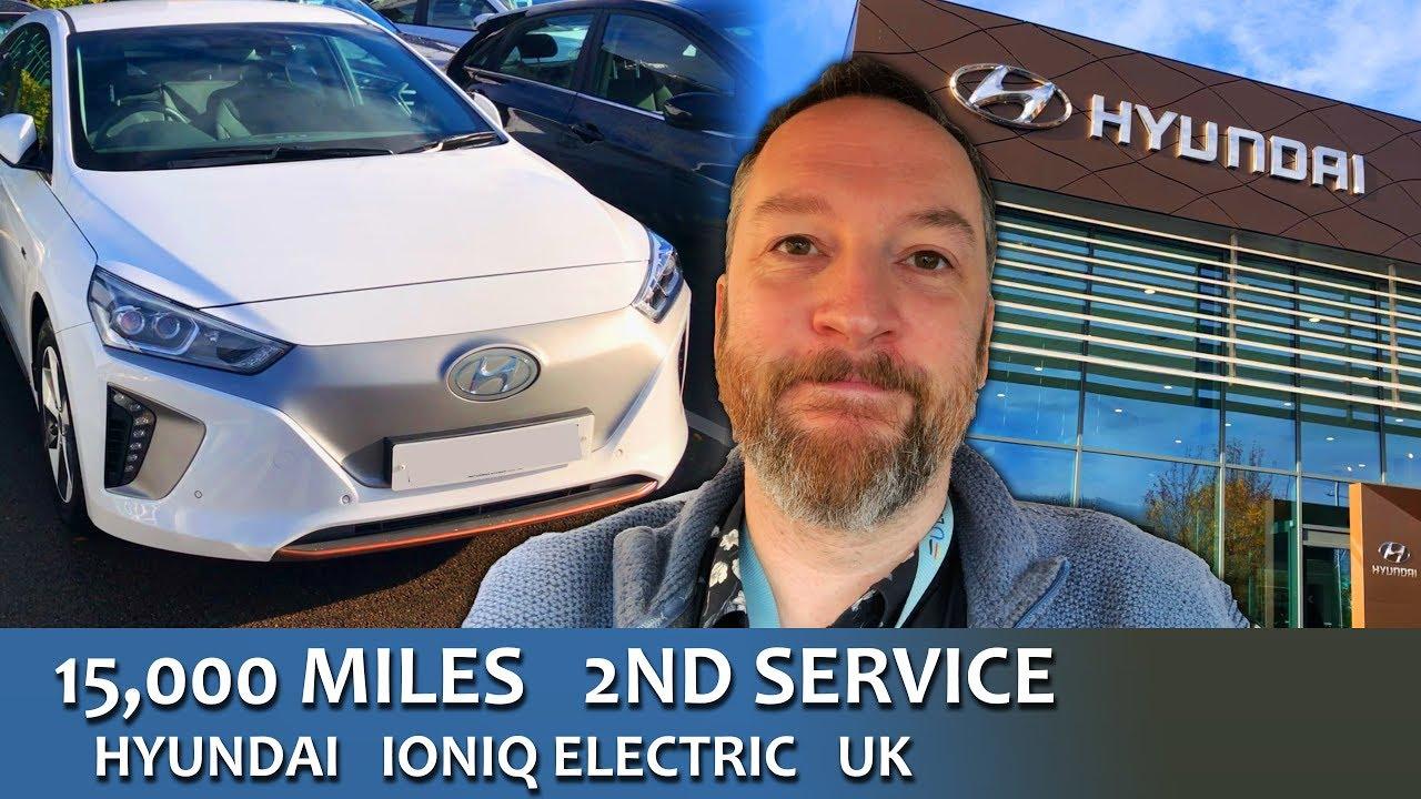 15000 Mile Second Service Uk Hyundai Ioniq Electric