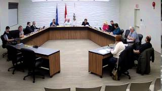 Town of Drumheller Council Meeting January 25, 2016