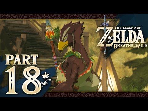 The Legend of Zelda: Breath of the Wild - Part 18 - Rito Village