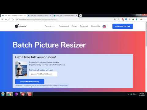 How To Get Free Key Softorbits Batch Picture Resizer