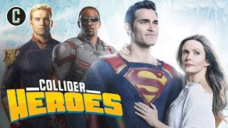 Superman & Lois TV Show Announced! Who Will Win the Superhero Streaming Wars? - Heroes