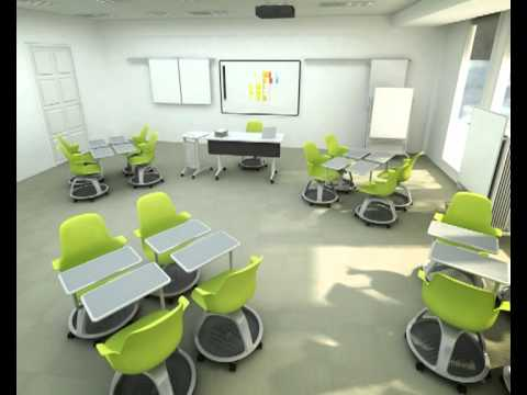 Steelcase Classroom Chairs Rattan Outdoor Uk Node Animation In Toronto Ontario Youtube