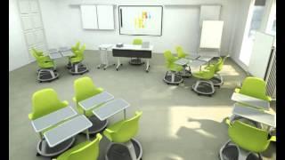 Steelcase Node Animation Classroom In Toronto, Ontario