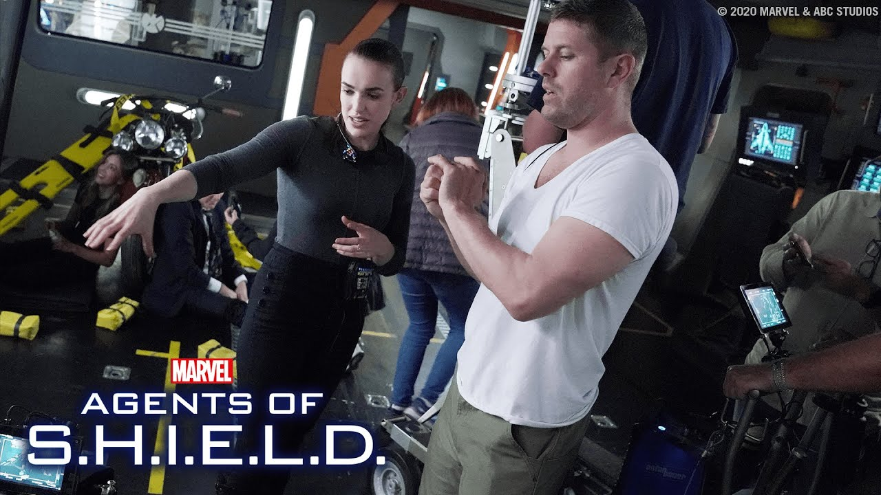 Download Behind the Scenes of Marvel's Agents of S.H.I.E.L.D. with Elizabeth Henstridge!