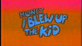 Honey, I Blew Up The Kid VHS Opening (1992)