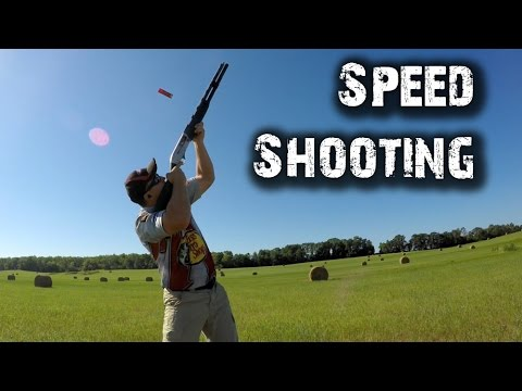 Speed Shooting Multiple Clay Targets – Shoot 2 Thrill #7