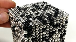 Magnetic Balls : Grey (Satisfying video) | Magnetic Games