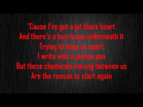 Jet Black Heart  5sos Lyrics