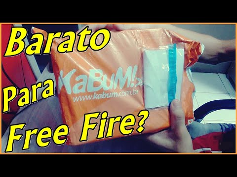 Unboxing: Celular BOM E BARATO Para JOGAR Free Fire? (Primeiras Impressões!)
