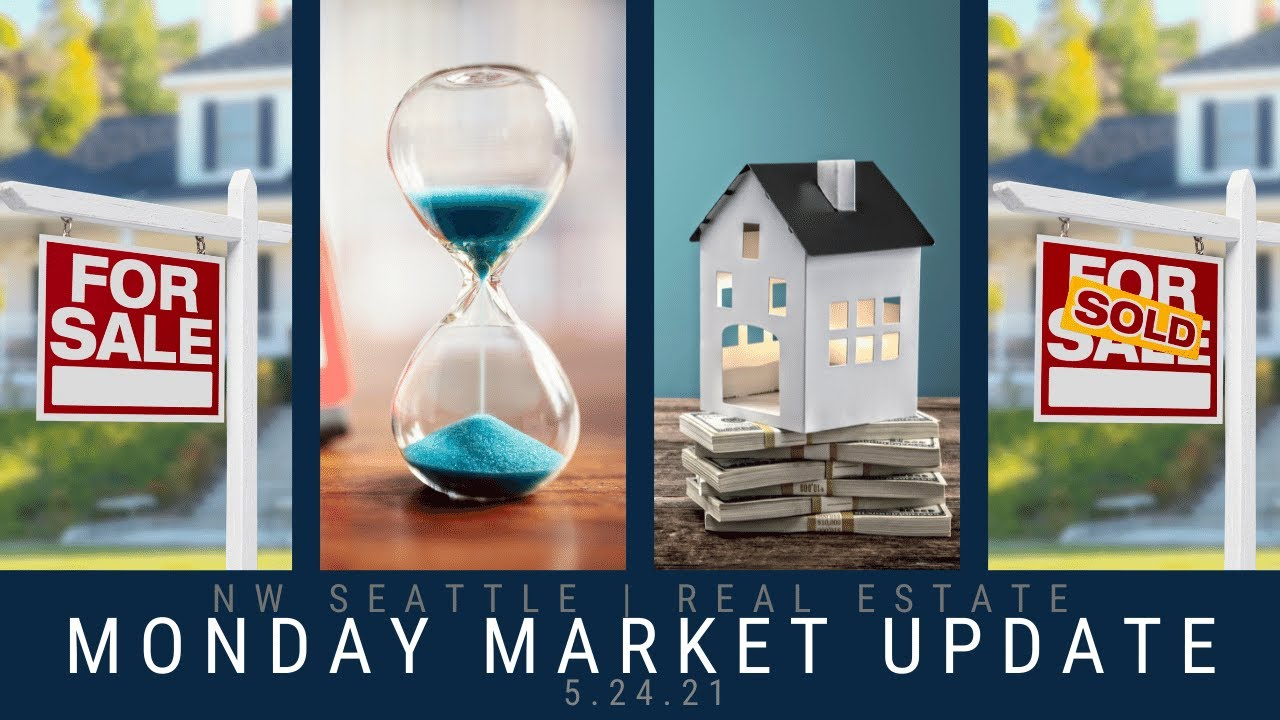 Monday NW Seattle Real Estate Market Update 📅 May 24th, 2021