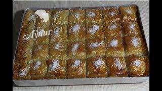 Hindistancevizli süper lezzetli Baklava tarifi I Bayram tatlilari I Şerbetli Tatlilar