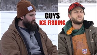 Guys Ice Fishing