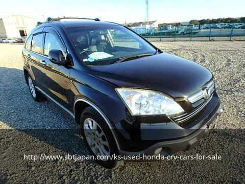 Used Honda Crv Cars For Sale Sbt Japan Youtube