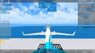 (how a pilot fly a plane) Roblox flight part 1(KeyonAir)