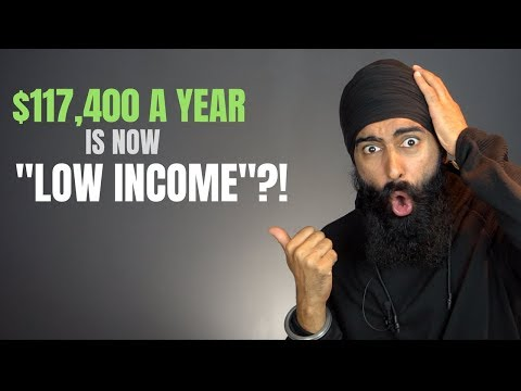 """$117,400 Is Considered """"Low Income""""?!"""