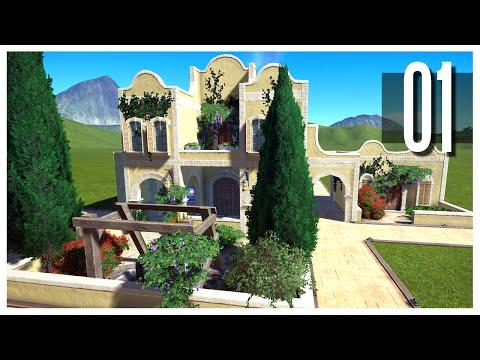 Planet Coaster - Ep.01 : Custom Buildings!