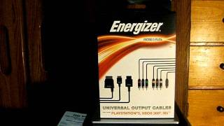 Christmas comes early :) Hauppauge HD PVR 1212 + Energizer Universal Output Cables Review