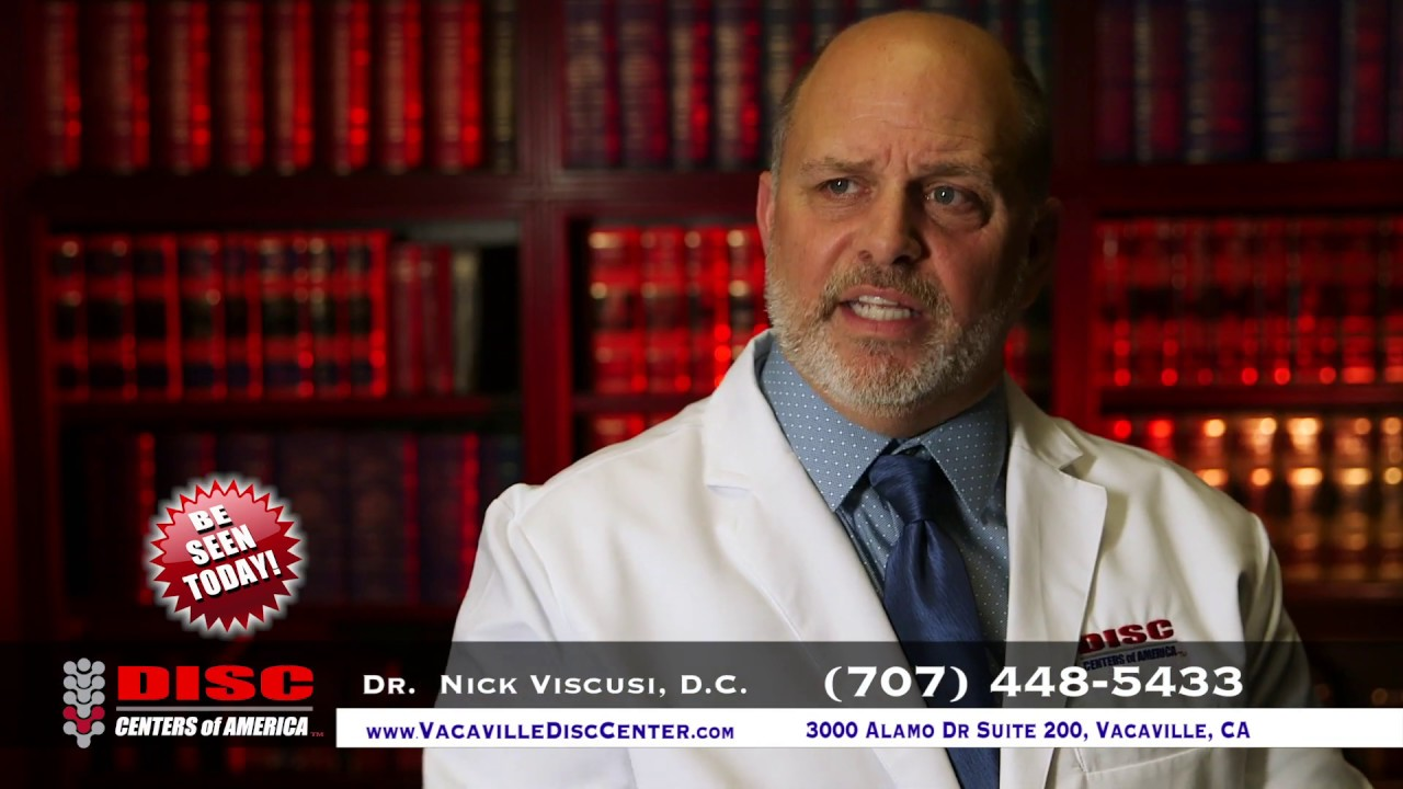 Back Pain and Disc Pain Treatment in Vacaville, CA