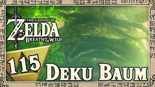 THE LEGEND OF ZELDA BREATH OF THE WILD Part 115: Der Deku-Baum und das Master-Schwert im Krog-Wald