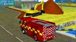 Fire Engine Simulator - Driving Fire Truck | Ladder Truck in Action | Best Android Gameplay HD