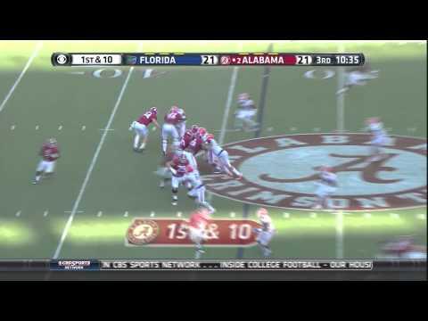 Blake Sims, Alabama vs. Florida (September 20, 2014)