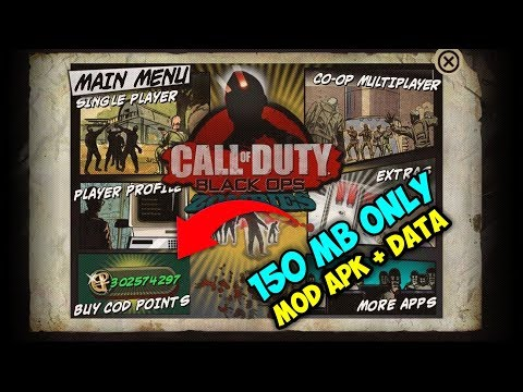 Call Of Duty: Black Ops Zombies Mod Apk + Data Unlimited Money (150 MB ONLY)