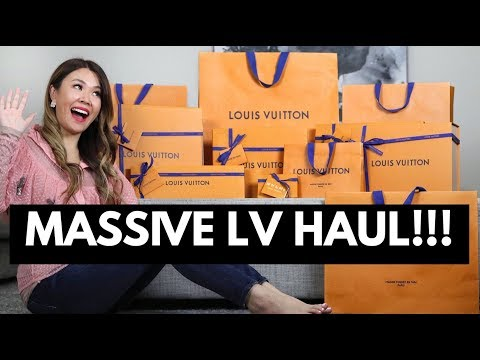 MASSIVE LOUIS VUITTON HAUL/UNBOXING! NEW BAG, SHOES & more! | Mel in Melbourne