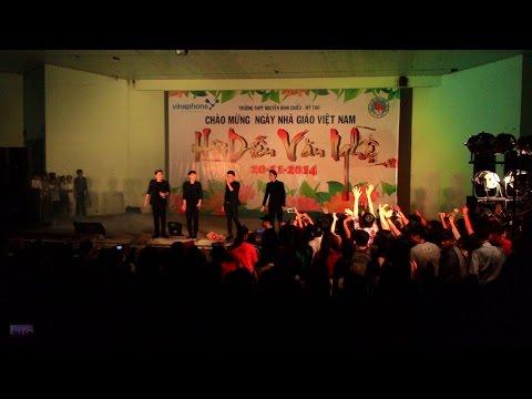 Hội diễn văn nghệ chào mừng 20/11_Trường THPT Nguyễn Đình Chiểu - Mỹ Tho_14/11/2014 (P3-365 Band)