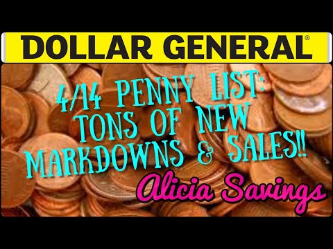 4/14 Penny List ! 50 % OFF Toys & MORE At Dollar General
