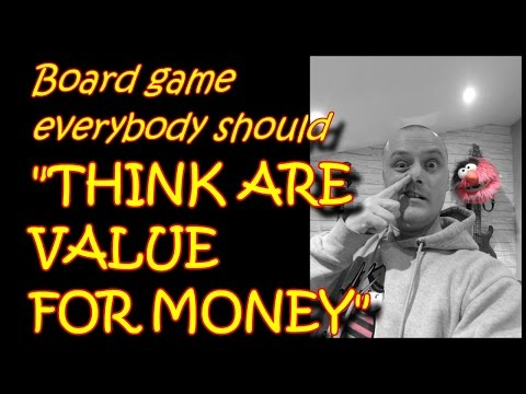 Board Games Everybody Should... think are value for money (take 2.00009)